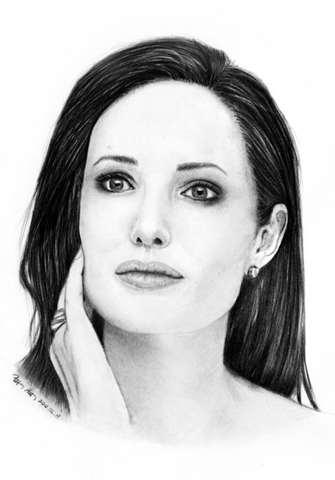 Angelina Jolie par Castia